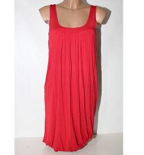 Abito Vestito Woolrich S donna rosso viscosa