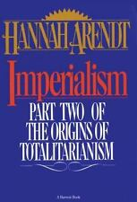 Imperialism: Part Two Of The Origins Of Totalitarianism, Arendt, Hannah, Very Go