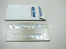 ORIGINAL OPEL Vectra B VECTRA DTI Schriftzug 09119941 NEU