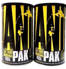 Universal Nutrition ANIMAL PAK 44 Packs x 2 MUSCLE VITAMINS Bundle Better Value!