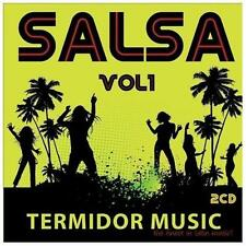 Salsa, Vol. 1 by Various Artists (CD, Jul-2013, 2 Discs, Termidor)