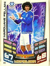 Match Attax 2012/13 Premier League - #065 Marouane Fellaini - Everton