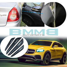 Carbon Black Mercedes BENZ Outside Edge Protection Anti-scratch Stickers