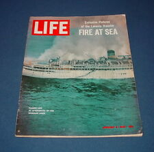 LIFE MAGAZINE JANUARY 3 1964 J.F.K. HOVERCRAFT LAKONIA DISASTER BOLIVIA HOSTAGES