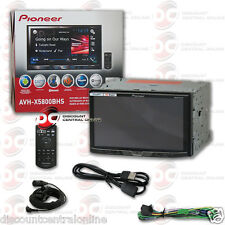 "PIONEER AVH-X5800BHS 7"" 2-DIN TOUCHSCREEN DVD CD BLUETOOTH HD RADIO PANDORA APP"