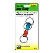 3WAY PULL APART KEYRING