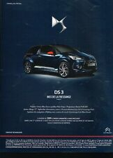 Publicité advertising 2015 Citroen DS3 Inès de la Fressange