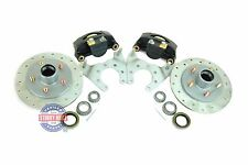 Tie Down Engineering Stainless Steel Disc Brake Kit 9.6 inch for 3500lb  Axle