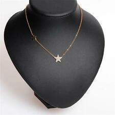 Michael Kors Pave Star Delicate Pendant Necklace Gold Tone FREE SHIPPING