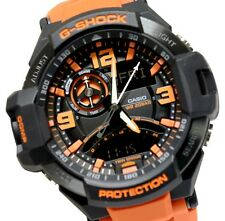 Casio G-Shock Men's Aviation Series Orange Luxury Sport 200M Watch GA-1000-4ACR