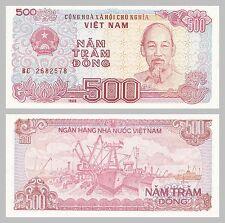 Vietnam 500 Dong 1988 p101a unc.