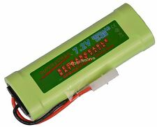 1 pcs 7.2V 3800mAh Ni-Mh rechargeable battery pack RC w/ Tamiya Plug USA