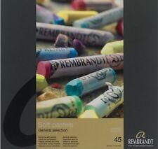 Rembrandt-artistes soft pastels - 45 pleine longueur-sélection générales