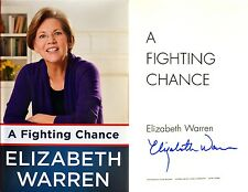 Elizabeth Warren~SIGNED IN PERSON~A Fighting Chance~1st/1st + Photos & COA!!