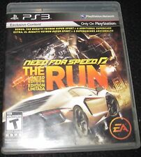 Need For Speed: The Run  - Sony Playstation 3 Video PS3 Game Complete