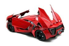 Lykan hypersport sortir le film fast and furious 7 2015 rouge 1:18 jada 97388