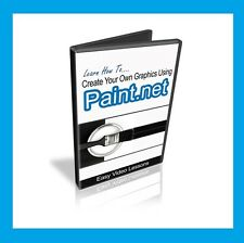 How to use Paint.NET to create graphics. Video Tutorial Training on DVD