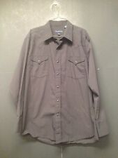 Panhandle Slim Western Shirt Size Large Pearl Snap Rockabilly Rodeo Cowboy