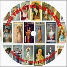 191 Theatre Magazines DVD Vintage Plays Opera Arts Broadway Color Photos Stage