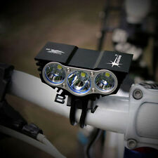 SolarStorm Bicycle Light 12000Lm 3 x CREE XM-L T6 LED 4-Mode Head Lamp