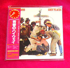 JACKSONS Goin' Places JAPAN AUTHENTIC MINI LP CD NEW OUT OF PRINT EICP-1201