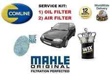 FOR SUZUKI SWIFT 1.3 HATCHBACK 1990-1992 NEW OIL AIR FILTER SERVICE KIT