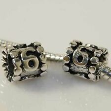 """""""Lucky Number 6"""" Charm Beads"""