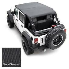 Jeep Wrangler JK Extended Top 2007-2009 4 door Black Diamond Smittybilt 94535