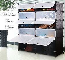 PVC SHOE RACK 10 LAYERS DOUBLE-LKL-209