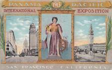 C3260) USA, SAN FRANCISCO PANAMA PACIFIC INTERNATIONAL EXPOSITION 1915. VG.