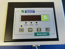 Systech Illinois ZR820 Process Oxygen Analyzer - 2011 Model