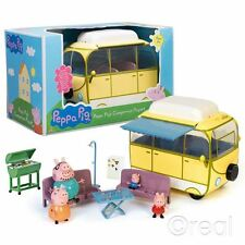 New Peppa Pig Large Campervan Playset & Figures George Mummy Daddy Official