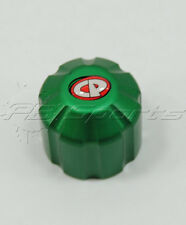 CP Custom Products Thread Protector For Paintball tank Regulator Green Aluminum