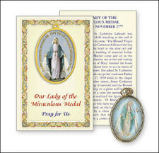 VIRGIN MARY OUR LADY PICTURE MEDAL & PRAYER CARD STATUES CANDLES PICTURES LISTED