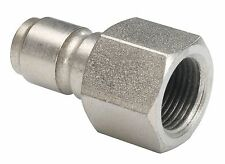 "New 1/4"" Female Pressure Washer Mini 11.6mm Quick Release Plug 150 Bar"