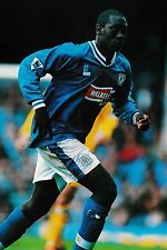 Football Photo EMILE HESKEY Leicester City 1997-98