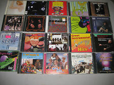 175+-Used Music CD-Box-Bulk-Lot-Wholesale-In-Jewel-Cases