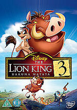 THE LION KING PART 3 - HAKUNA MATATA DVD Original WALT DISNEY Brand New UK