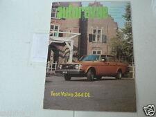 AUTOREVUE 1974-23 VOLVO 244 DL,ZANDVOORT 1975,CITROEN GS ADD,F1 1975,RALLY,ROD