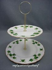 Colclough Ivy Leaf 2 tier cake stand..