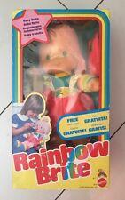 """Vintage 1983 Mattel Rainbow Brite BABY BRITE Doll 19"""" NRFB MINT RARE"""