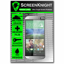 ScreenKnight HTC One M8S SCREEN PROTECTOR invisible Military shield