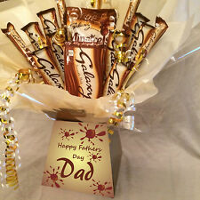 XL FATHERS DAY GALAXY SWEET CHOCOLATE BOUQUET HAMPER