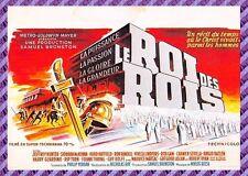 Cartolina Manifesto del Film - LE ROI DEI ROIS