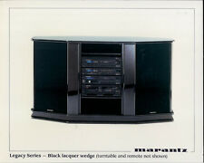 Marantz Legacy Series Black Lacquer Wedge Sound System Glossy 8x10 Kodak Photo