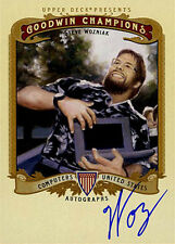 Steve Woz Wozniak SIGNED Upper Deck Goodwin Champions Card Apple AUTOGRAPHED
