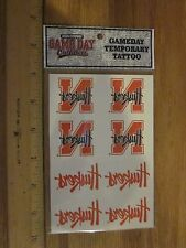 Nebraska Cornhuskers Temporary Tatoo pack Free shipping! Great gift!