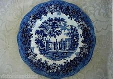 Collectible Vintage Blue Penshurst Place Scenic Plate - Made in  England