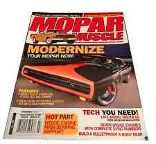 Mopar Muscle Mag 2007 - 71 Plymouth Duster, Dodge Challenger 70 Charger R/T Hemi