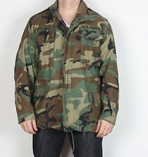 "M65 us army field jacket medium 38 40 42"" camouflage (jdc) 1996"